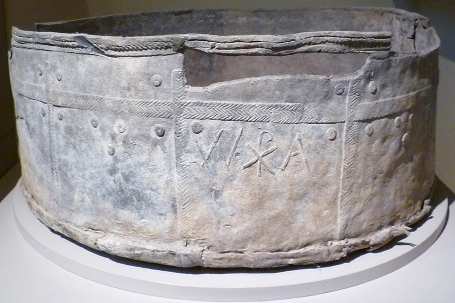 Римский свинцовый таз