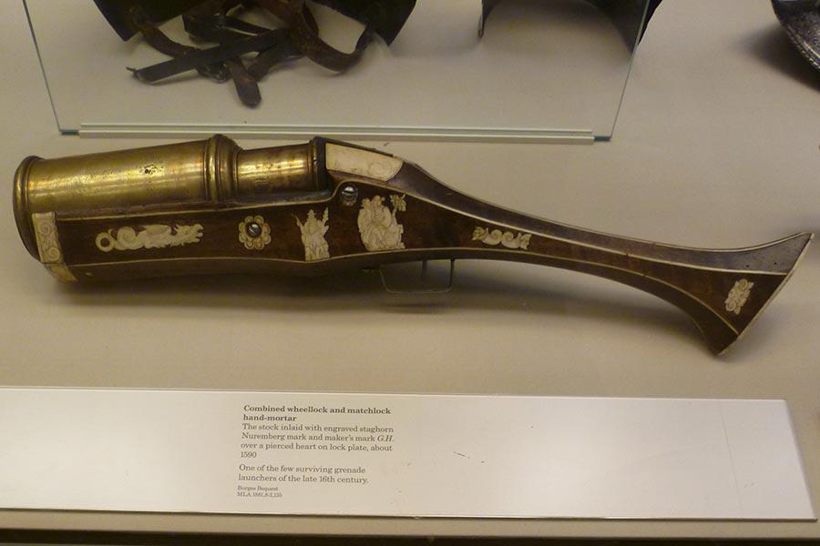 Ручная мортира конца XVI-го века