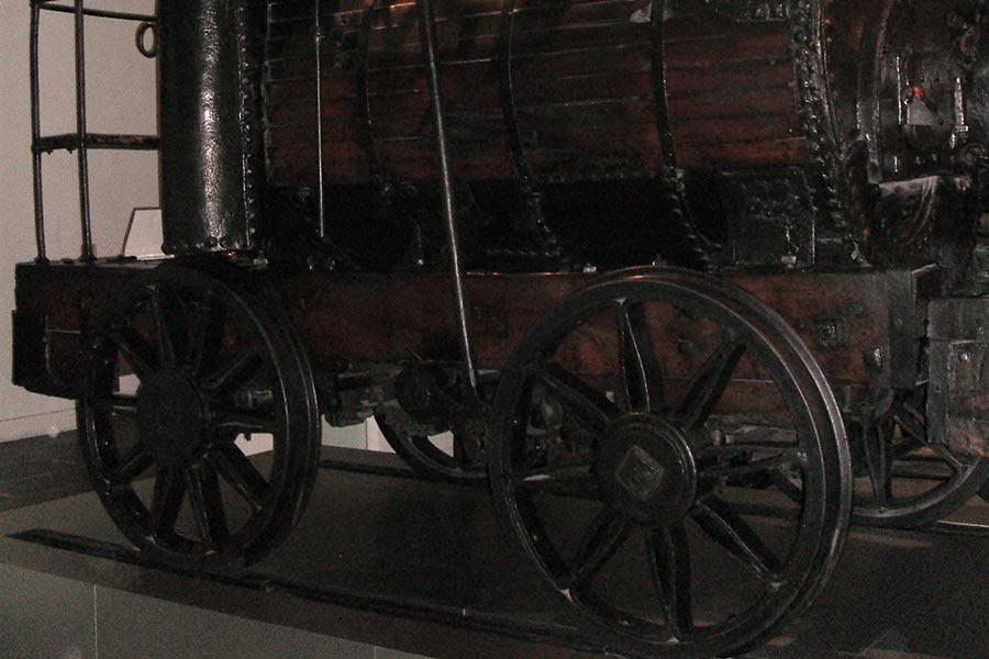 Легендарный паровоз «Пыхтящий Билли»
