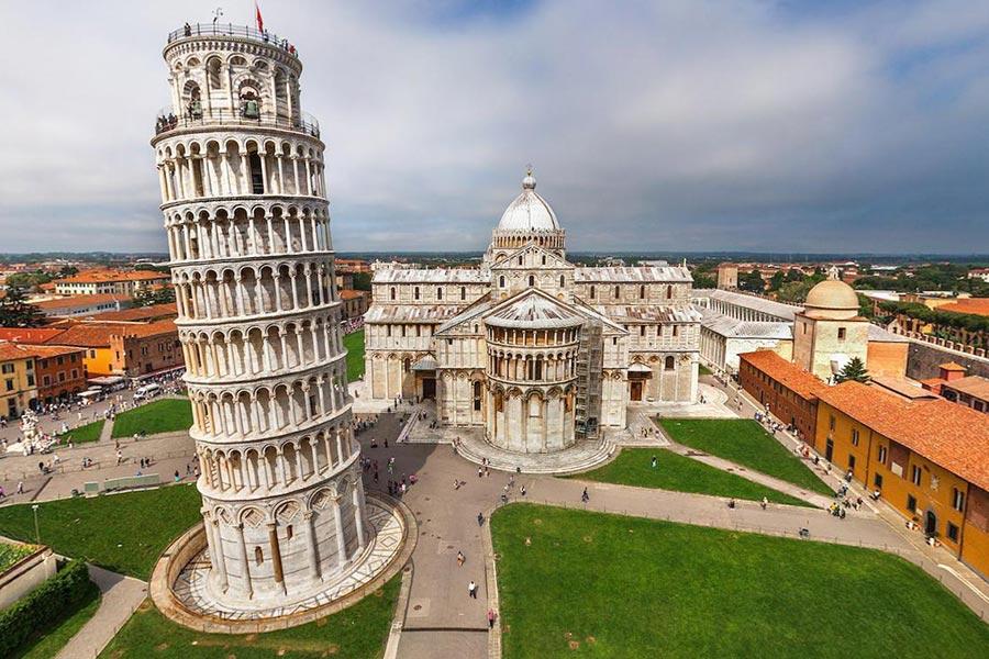Пизанская Башня (Torre pendente di Pisa)