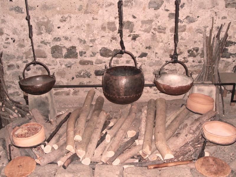 Кухня Котелки.