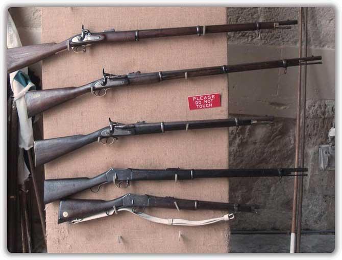 Мушкеты и ружья 19-го века