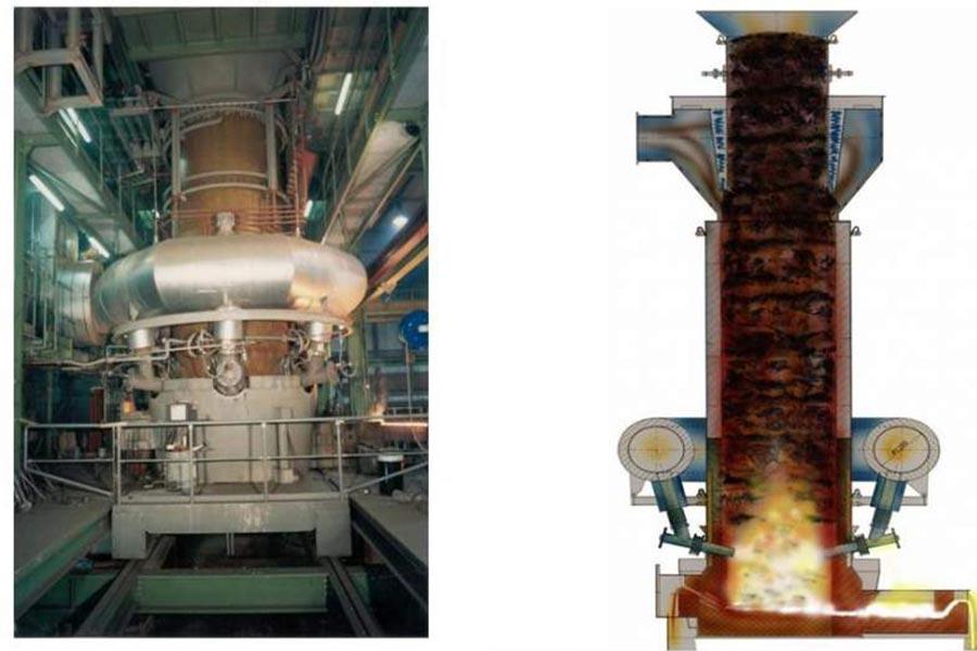 Комплекс OXYCUP для полной утилизации металлургических отходов в масштабах комбината или отдельного региона