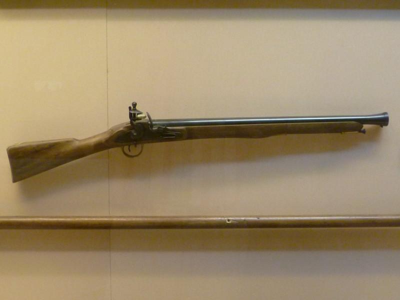 Морской мушкет 18-го века.