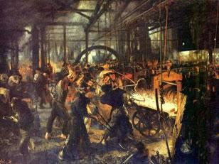 Кричные технологии индустриальной эпохи