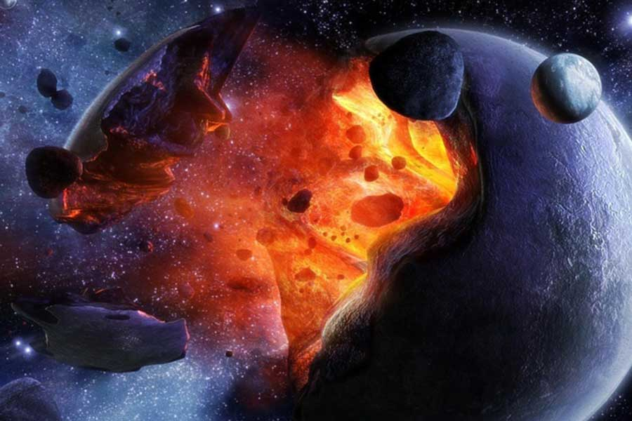 Металл в космосе