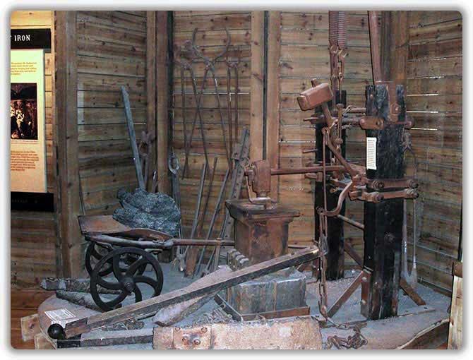 Станки и инструмент для обработки пудлингового железа