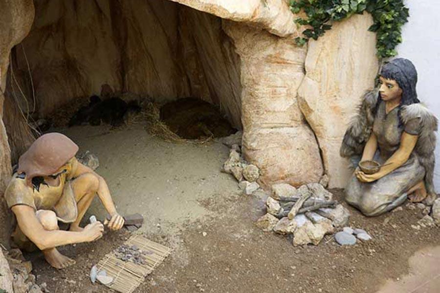 Экспозиция «доисторический человек»