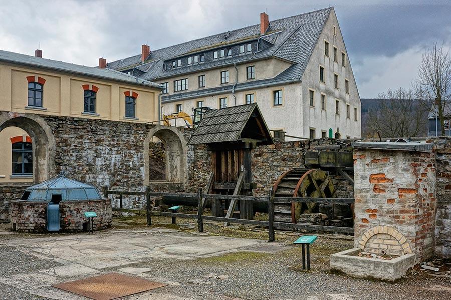 Площадка для реконструкции средневековых технологий
