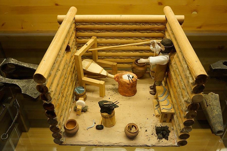 Реконструкция древнерусской кузницы