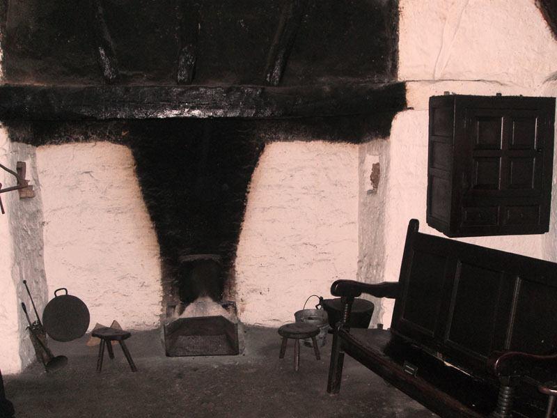 Уэльсский дом Интерьер