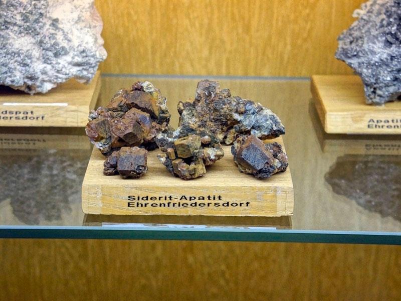 Экспонат минералогического музея.
