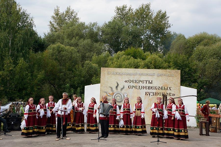Фестиваль кузнецов в Истье