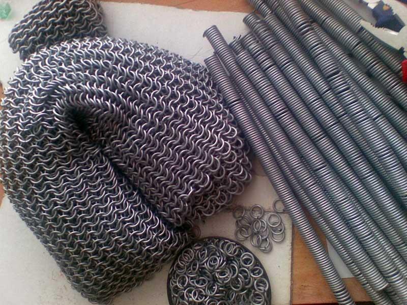 Плетение железной рубашки