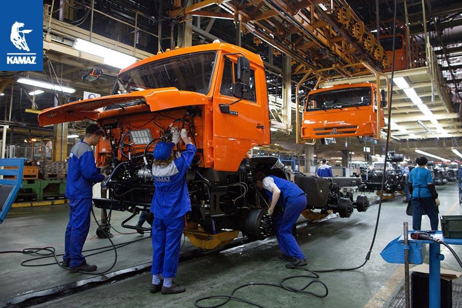 Производственная практика в подразделениях и организациях «КАМАЗ»