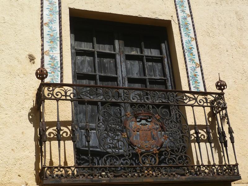 Балкон в мавританском стиле.