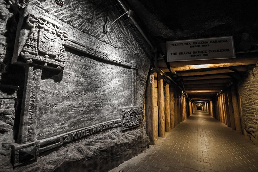 Соляная шахта в Величке (Wieliczka Salt Mine)