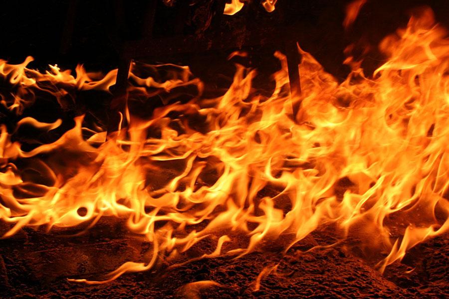 Сжигание твердых бытовых отходов