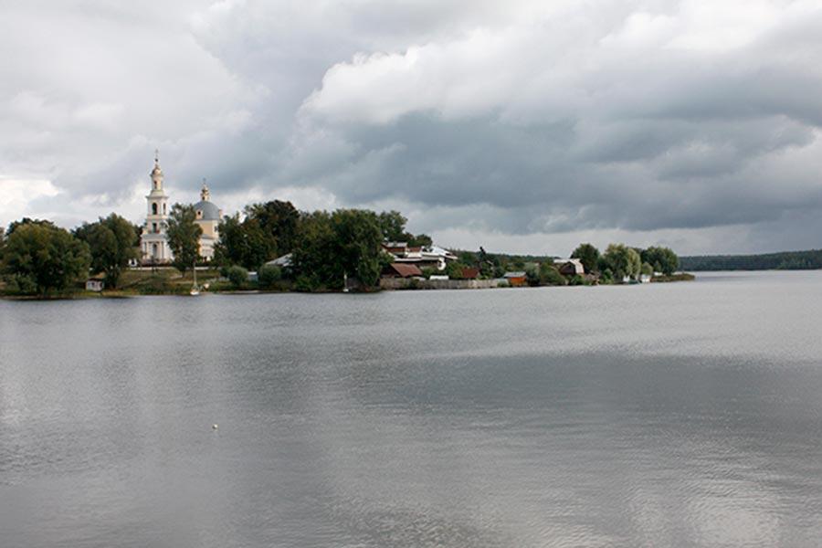 Верхний пруд усадебно-промышленного комплекса Баташевых-Шепелевых