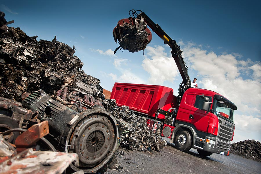 Имитационная модель рециклинга вторичных ресурсов черных металлов