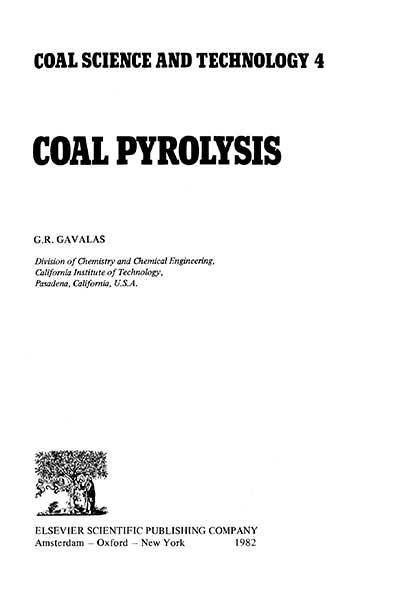 Coal pyrolysis