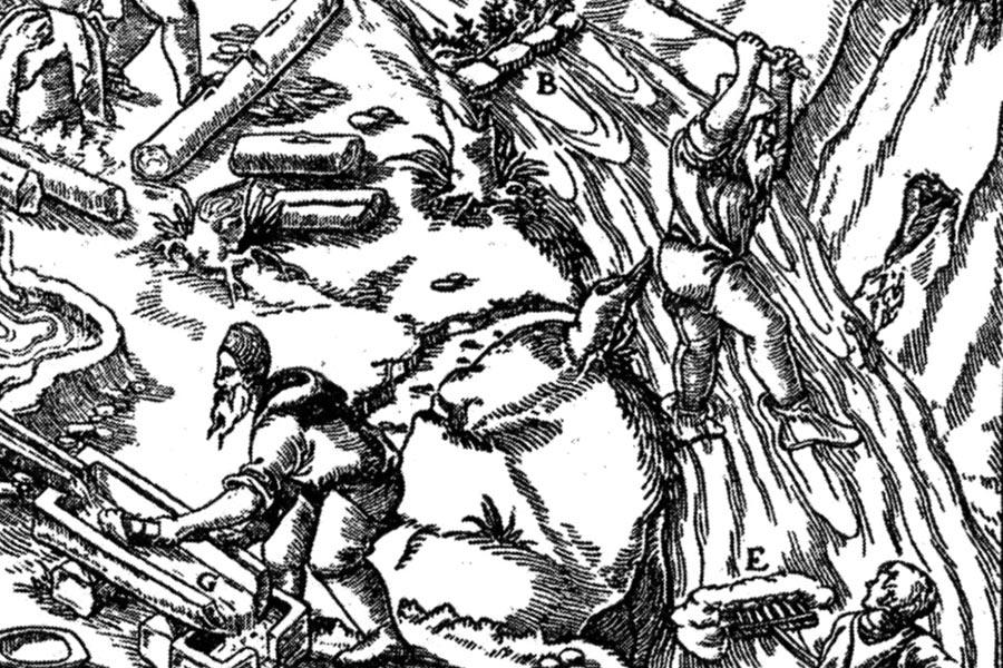 Добыча и подготовка оловянной руды