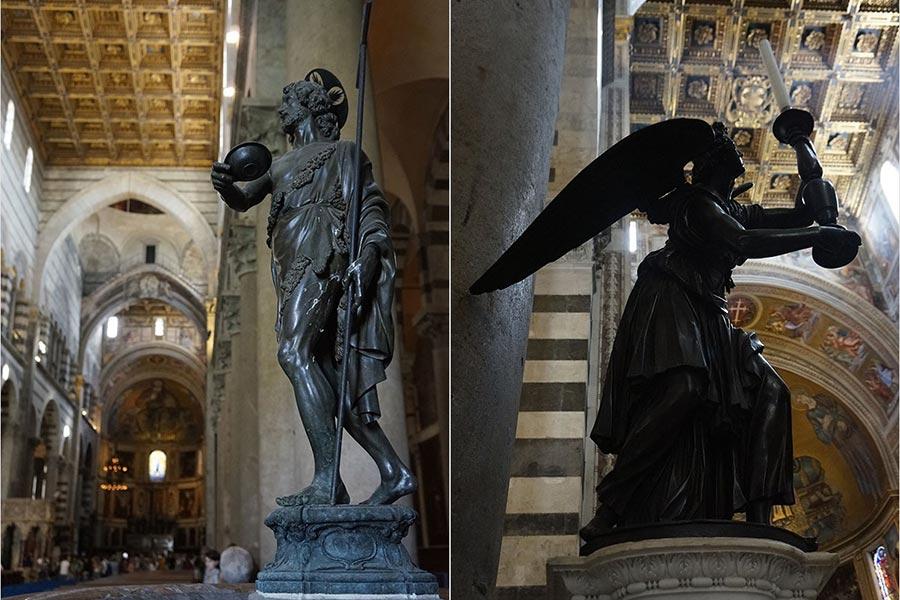 Бронзовое литье в кафедральном соборе Девы Марии