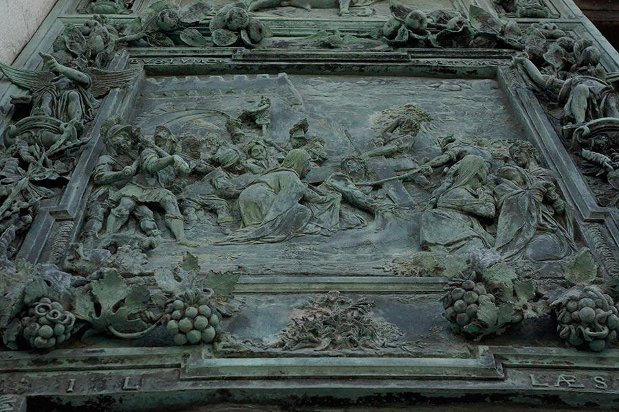 Ворота кафедрального собора Девы Марии