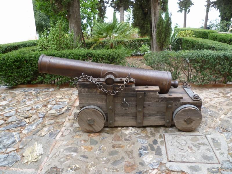 Бронзовое орудие 15-го века.