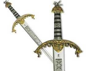 Меч Ричарда и сабля Саладина