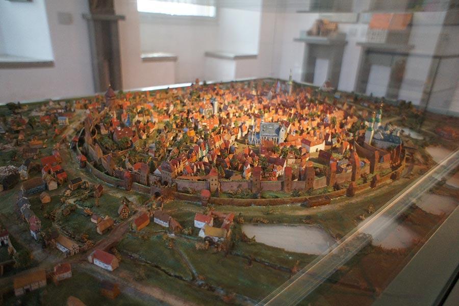 Макет средневекового Фрайберга