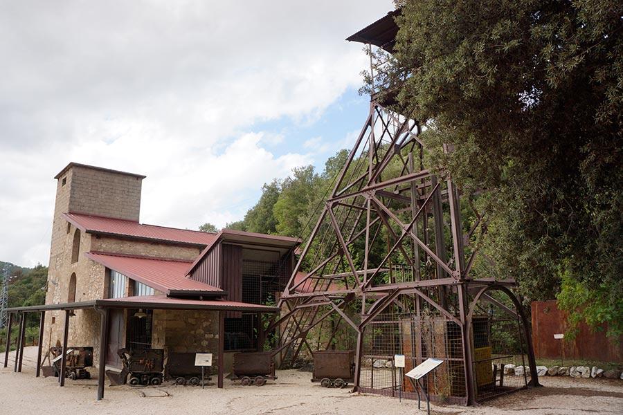Шахта-музей в Сан-Сильвестро. Надземная часть.