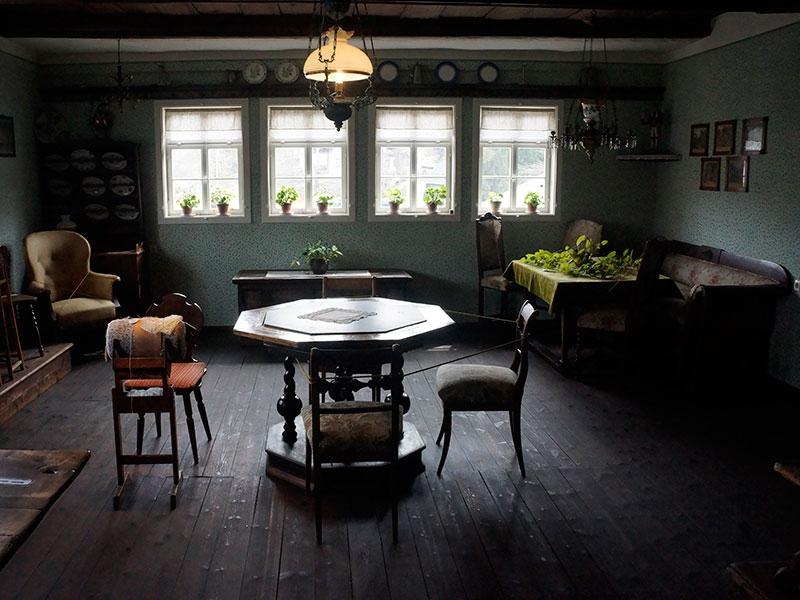 Дом горняка XIX века.