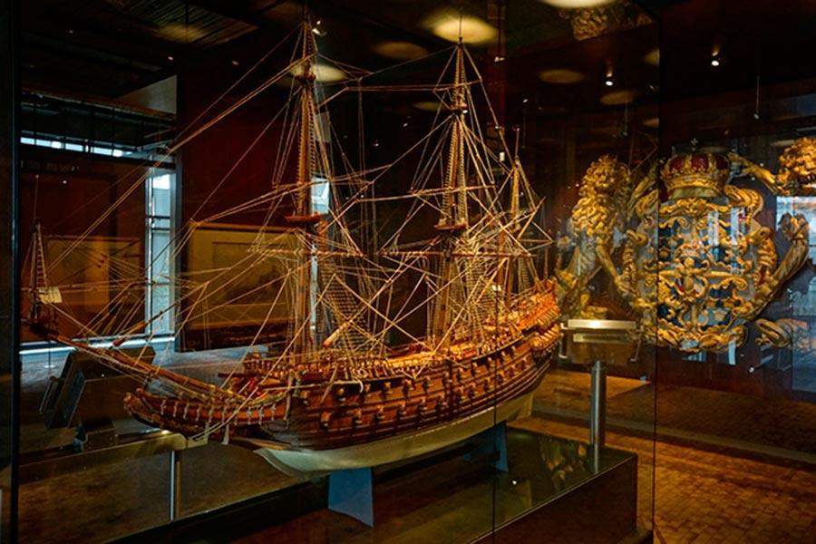 Экспозиция «Кораблестроение»