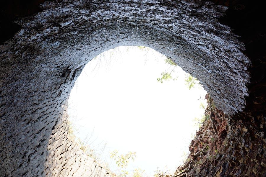 Истьинская печь изнутри