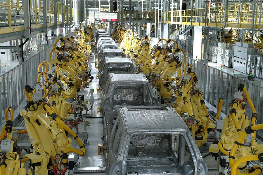 Развитие автомобильной отрасли