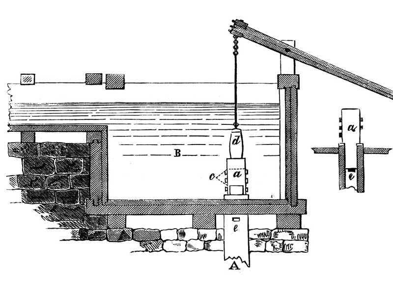 Тромпа – водотрубная воздуходувка