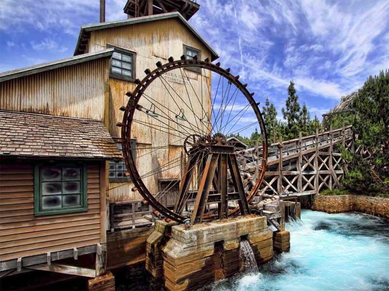 Водяные колёса Древнего Китая